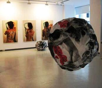 Expoziţie Simona Dobrescu. Flash-uri ale identităţii, Timişoara, 2009. Curator: Olivia Nitis
